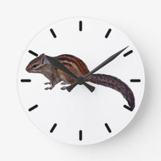 Chipmunk Clock (Choose Colour)