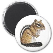 Chipmunk Cutie Magnet