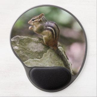 Chipmunk del este alfombrillas de ratón con gel