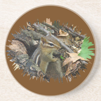 Chipmunk del este - striatus del Tamias Posavasos Diseño