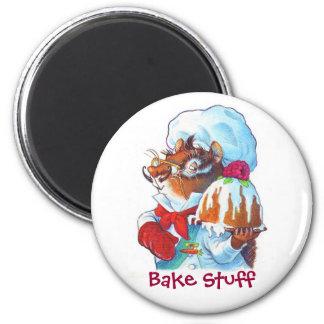 Chipmunk Dessert Chef Magnets
