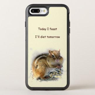 Chipmunk Feasting Dieting Animal OtterBox Symmetry iPhone 7 Plus Case