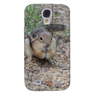 Chipmunk Feeding on Ground Samsung Galaxy S4 Covers