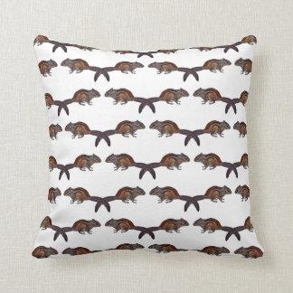 Chipmunk Frenzy Pillow (Choose Colour)