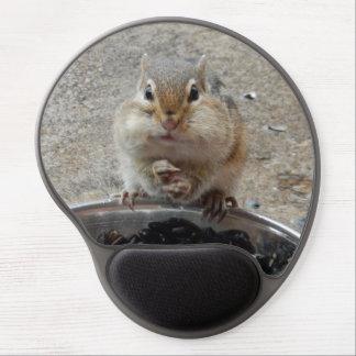 Chipmunk Gel Mousepad (Gloating Chipmunk)