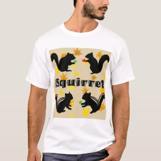 Chipmunk illustration (10) T-Shirt
