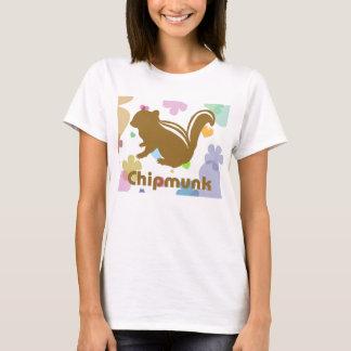 Chipmunk illustration (12) Brown T-Shirt
