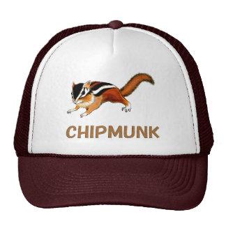 Chipmunk illustration (2) trucker hat