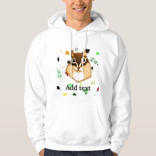 Chipmunk illustration (4) hoodie