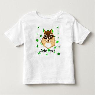 Chipmunk illustration (4) toddler t-shirt