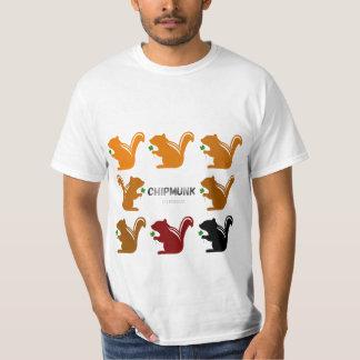 Chipmunk illustration (9) T-Shirt