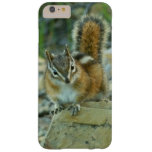 Chipmunk in Glacier National Park I Nature Photo Barely There iPhone 6 Plus Case