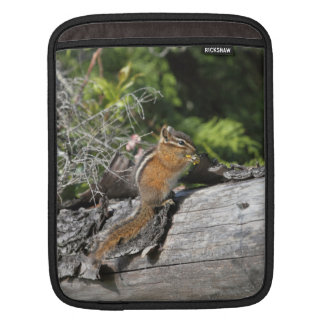 Chipmunk in the Forest Sleeve For iPads
