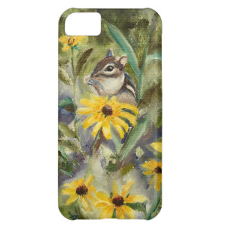 Chipmunk In the Garden Cover For iPhone 5C