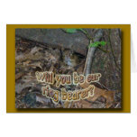Chipmunk in Woods Coordinating Items Card