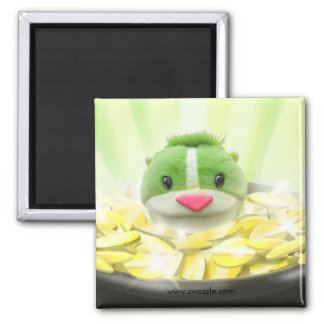 Chipmunk Leprechaun Magnet