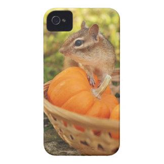 Chipmunk lindo de la cosecha funda para iPhone 4 de Case-Mate