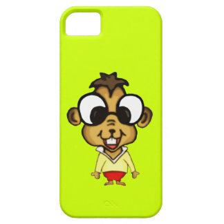 Chipmunk lindo del dibujo animado iPhone 5 Case-Mate carcasas