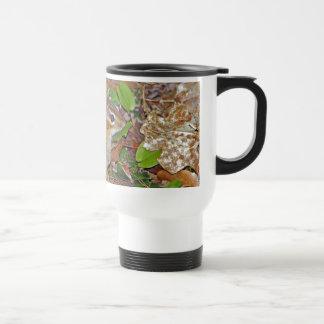 Chipmunk lindo taza de viaje de acero inoxidable