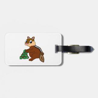 Chipmunk Luggage Tag