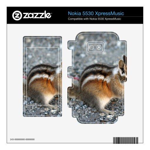Chipmunk Nokia 5530 Skin