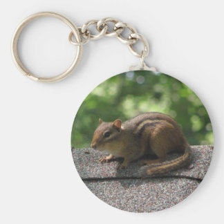 Chipmunk on the Roof Keychain