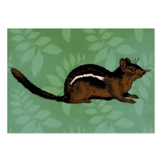 Chipmunk Painting Business Card Templates