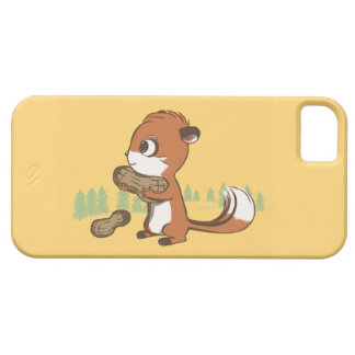 Chipmunk & Peanuts iPhone Case
