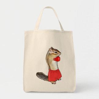Chipmunk photo (12) canvas bag