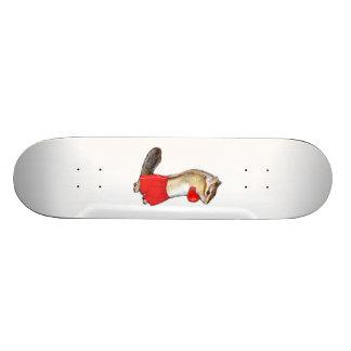 Chipmunk photo (12) skate board deck