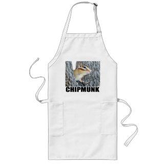 Chipmunk photo (17-4) long apron