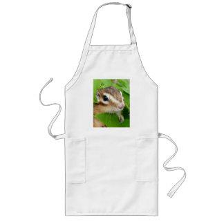 Chipmunk photo (20-1) long apron