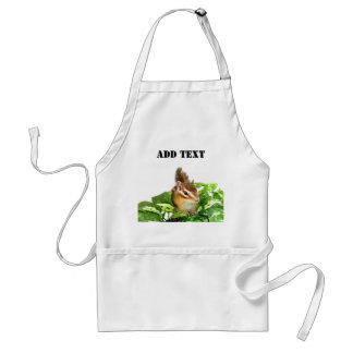 Chipmunk photo (25) adult apron