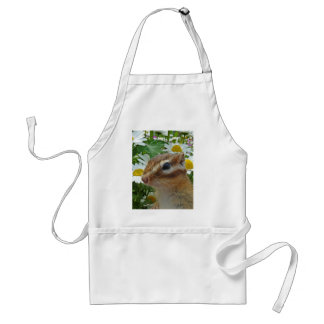 Chipmunk photo (30-12) adult apron
