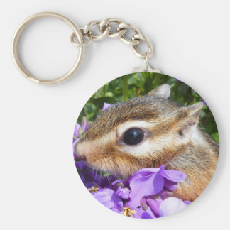 Chipmunk photo (30-15) keychain