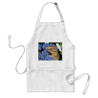 Chipmunk photo (30-21) adult apron