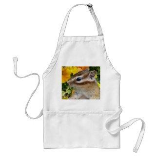 Chipmunk photo (30-9) adult apron