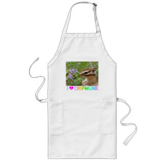 Chipmunk photo (30) long apron