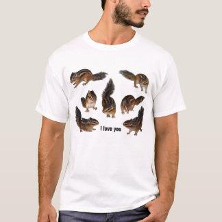 Chipmunk photo (31-1) T-Shirt