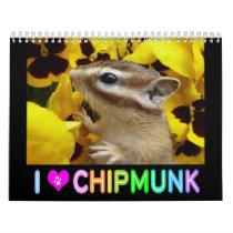 Chipmunk photo (3) calendar