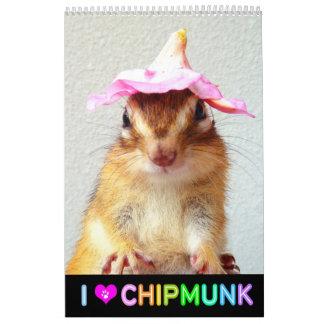 Chipmunk photo (4) calendar