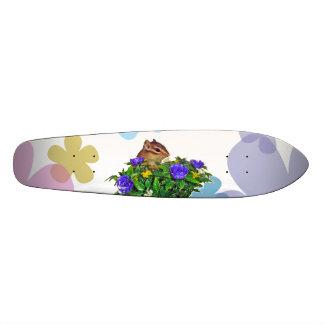 Chipmunk photo (4) type2 custom skate board