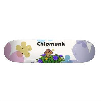 Chipmunk photo (4) type2 custom skateboard