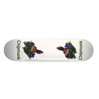 Chipmunk photo (4) type5 skate board deck