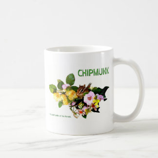 Chipmunk photo (7-6) coffee mug