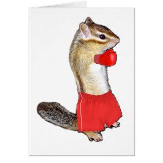 Chipmunk (photo) type-5 card
