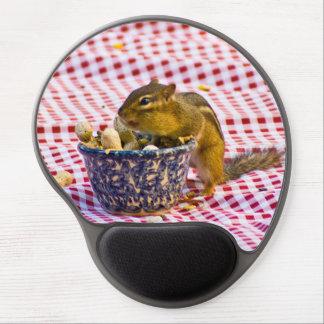Chipmunk Picnic Gel Mouse Pad