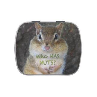 ¿Chipmunk - quién tiene nueces