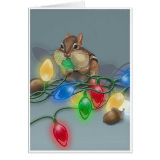 Chipmunk s Bright Idea Card