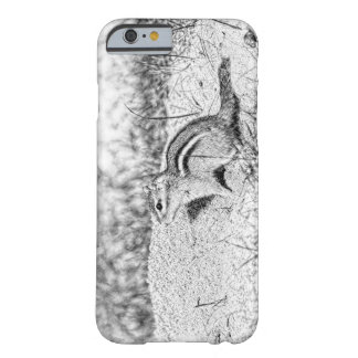 Chipmunk Sketch Barely There iPhone 6 Case